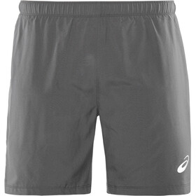 "asics Silver 7"" 2-in-1 Shorts Men, dark grey"